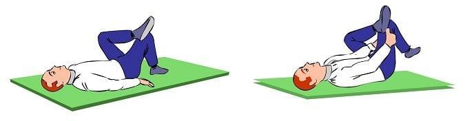 Image démontrant l'étirement du piriforme