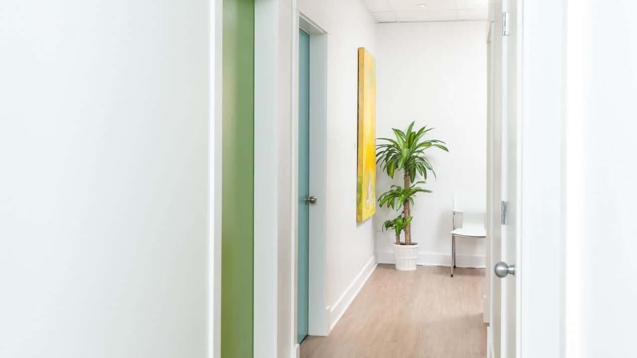 Couloir 1 clinique kiné santé