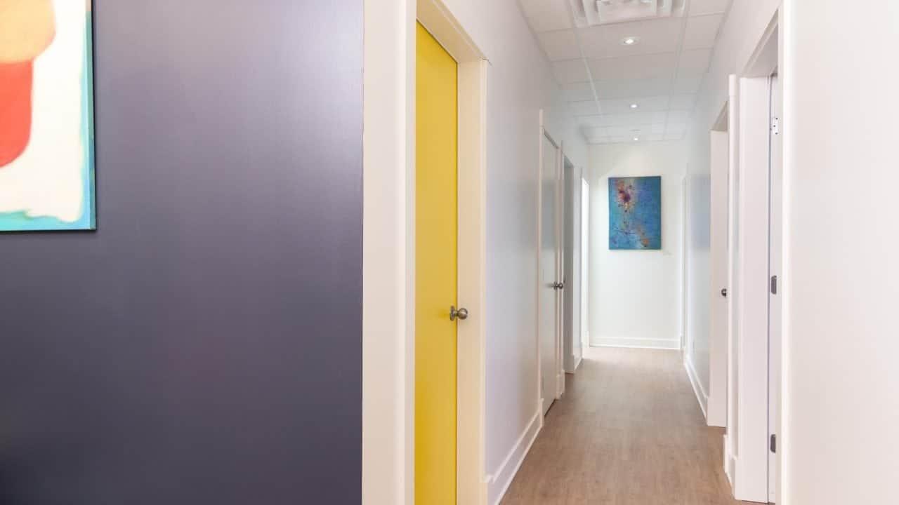 Couloir 2 clinique kiné santé