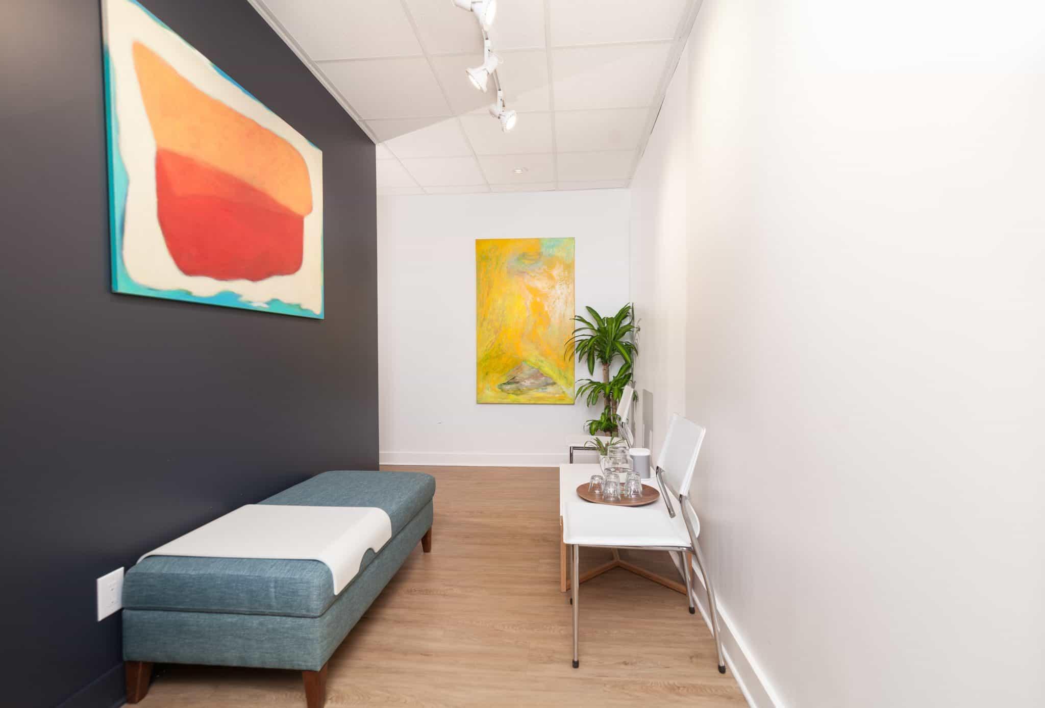 Réception clinique kiné santé