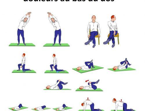 Exercices pour prévenir les douleurs au bas du dos
